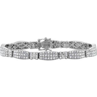 Andrew Meyer Diamond Tuxedo Link Bracelet