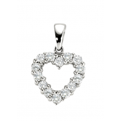 Andrew Meyer Diamond Heart Pendant