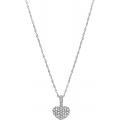 Andrew Meyer Diamond Heart Pendant (chain not included)