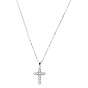 Andrew Meyer Diamond Cross Pendant (chain not included)