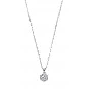 Andrew Meyer Diamond Flower Pendant (chain not included)