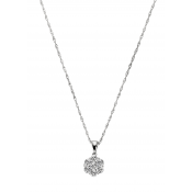 Andrew Meyer Diamond Flower Pendant (chain not included)