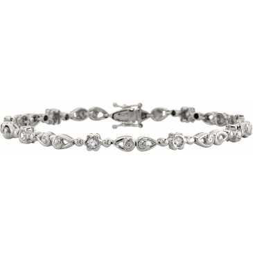 Andrew Meyer Diamond Link Bracelet